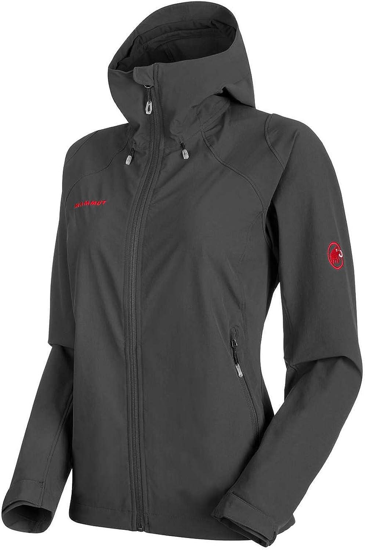 Mammut Runbold Trail SO Hooded Women's Jacket Graphite XS