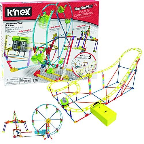 K'Nex 36187 Thrill Ride - Amusementenpark In Een Doos. - Bouwset