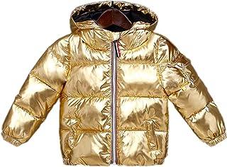 4547119cf64 KIMJUN Baby Girls Boys Hooded Puffer Jacket Coat Toddler Kid Winter Warm  Outerwear Snowsuit