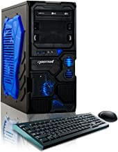 CybertronPC Borg-Q Gaming Desktop - AMD FX-4130 3.8GHz Quad-Core, NVIDIA GeForce GT610, 8GB DDR3 Memory, 1TB HDD, DVD±RW, Microsoft Windows 8.1 Home 64-bit (Discontinued by Manufacturer)