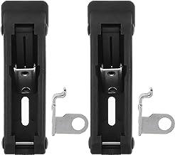Angoily 2 stks Elektrische Kabinet Klink Rvs Rubber Kast Box Sloten Eenvoudig te installeren Heavy Duty Latch voor Teller ...