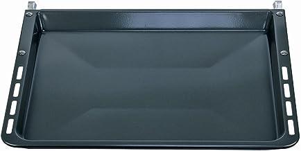 Bosch Siemens 00680615 680615 ORIGINAL Backblech Pizzablech Bratpfanne Bratblech Ofenblech 459 x 375 x 392 mm mit Träger Backofen Ofen Herd auch Neff Balay