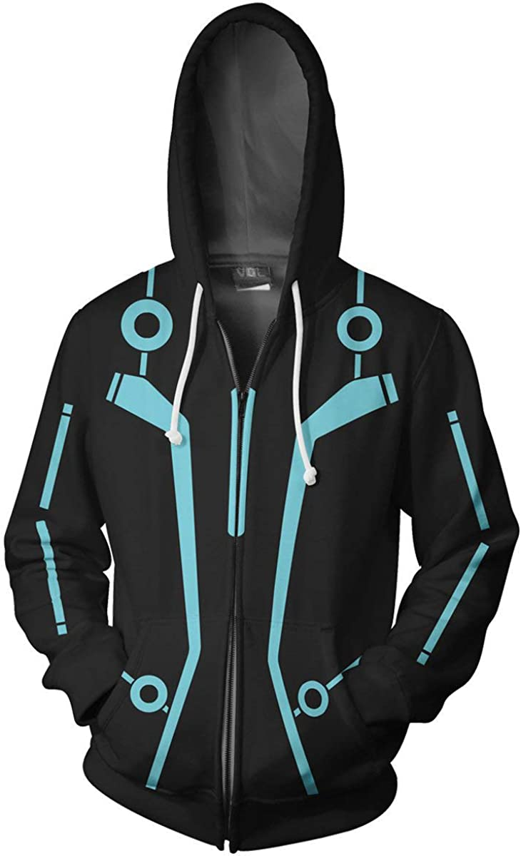 All stores are sold Xinxin Cos Superhero Anime 3D Cheap super special price Unisex Zip Hoodie Cardigan Cosplay