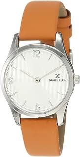 Daniel Klein Analog Silver Dial Women's Watch-DK11945-7