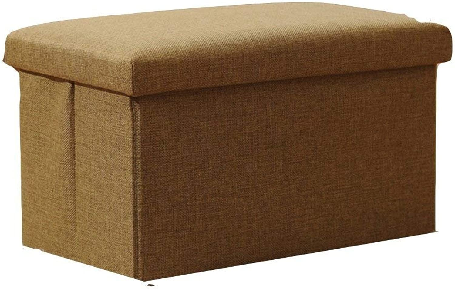 SED Sofa Stool- Storage Stool Storage Stool can sit a Small Stool Folding Multifunctional Stool (4 colors Optional) (40  25  25cm) -Storage Stool