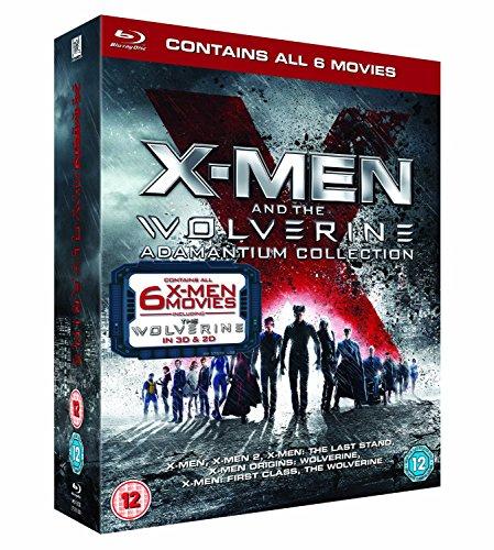 X Men and Wolverine All Films Blu Ray Collection (8 Discs) Box Set : X-Men 1 / X-Men 2 / X-Men 3: The Last Stand / X-Men Origins: Wolverine / X-Men First Class / The Wolverine (2D + 3D + Directors Cut + Theatrical Edition) + Featurettes + Interviews + Commentaries + Extras + Bonus Content