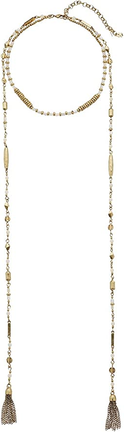 Lucky Brand - Beaded Choker Necklace