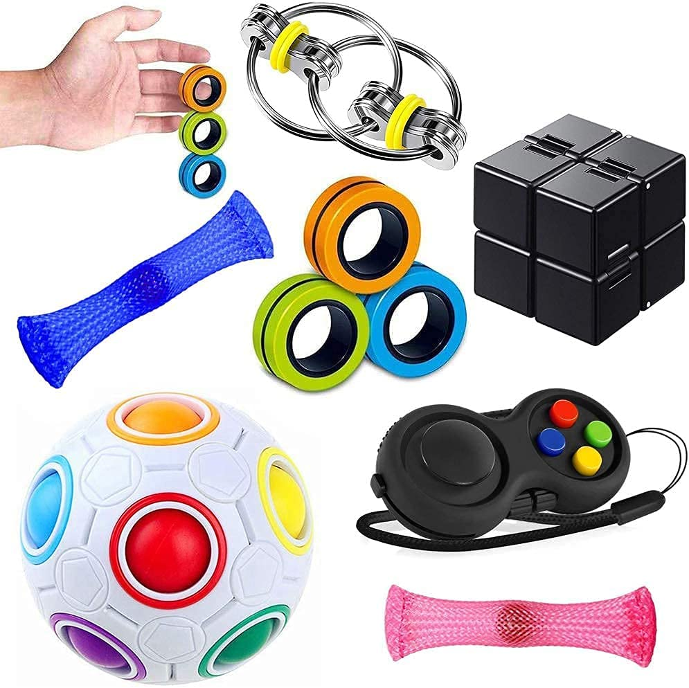 Sensory Fidget Toys Set 7 Pack. High material and T Stress Anti-Anxiety Relief Outlet sale feature