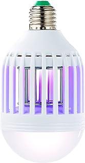 Exbuster Matainsectos UV 2 en 1 y lámpara LED E27, 9 W, 550 lm, luz blanca diurna