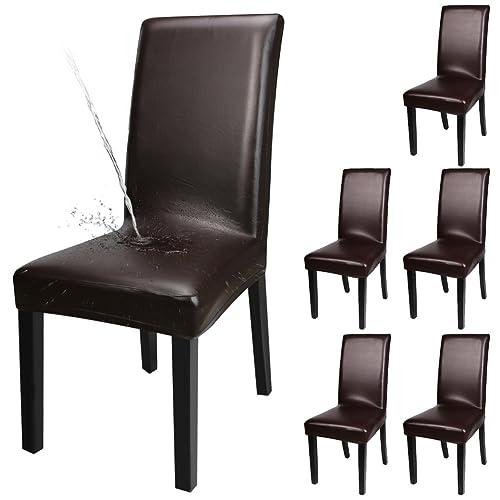 Esszimmer Leder Stuhl Amazon De