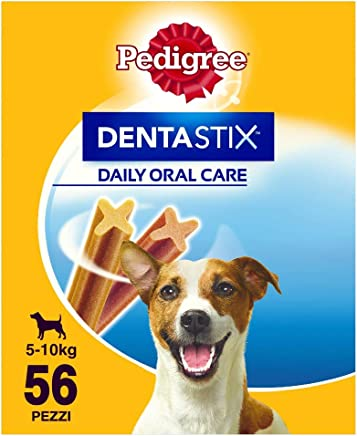 Pedigree Dentastix Snack per la Igiene Orale (Cane Piccolo 5- kg) 880 g 56 Pezzi - 1 Confezione da 56 Pezzi