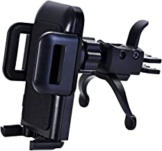 Car Phone Mount,U-good Cell Phone Holder for Car Air Vent Phone Holder Car Mount,Adjustable Clamp,360 Rotation Compatible with iPhone X XS Max XR 7 8 Plus, Samsung Galaxy S10 S9 S8 And More Smartphone