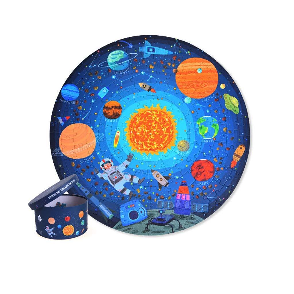 Rong toy 150 Piezas de Rompecabezas Bosque Aventura y cognitiva Juguetes educativos de Madera del Rompecabezas