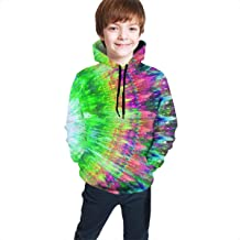 YongColer Casual Pullover Hoodie Hooded Sweatshirt Tracksuits for Boys Girls Teens Junior