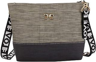 Wultia - Bags for Women 2019 Women Leather Shoulder Bag Messenger Satchel Tote Crossbody Bag Handbag Bolsa Feminina Green