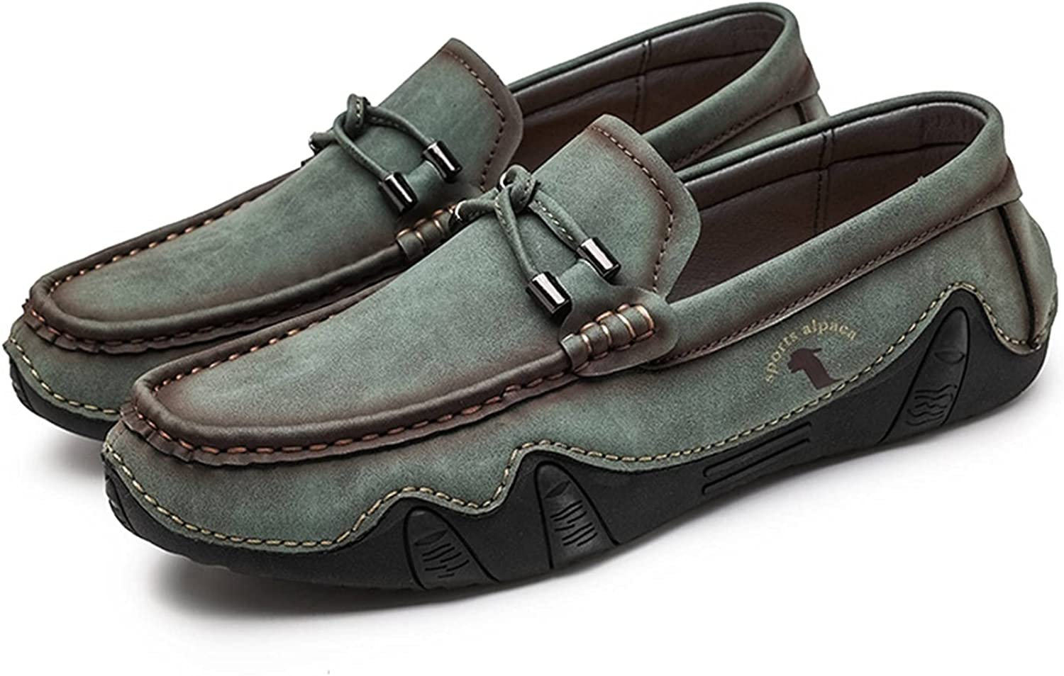 Men's Flat Loafers Closed Round M Phoenix Many popular brands Mall One-Step Halter Toe Mules