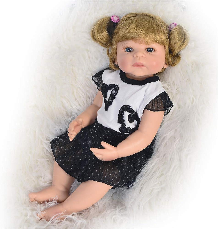 HUIGE Real Life Cute Neugeborenes Baby Doll Sleepping Girl 23 Zoll Full Body Silikon Reborn Dolls B07PGPD97L Hochwertige Materialien    Erlesene Materialien