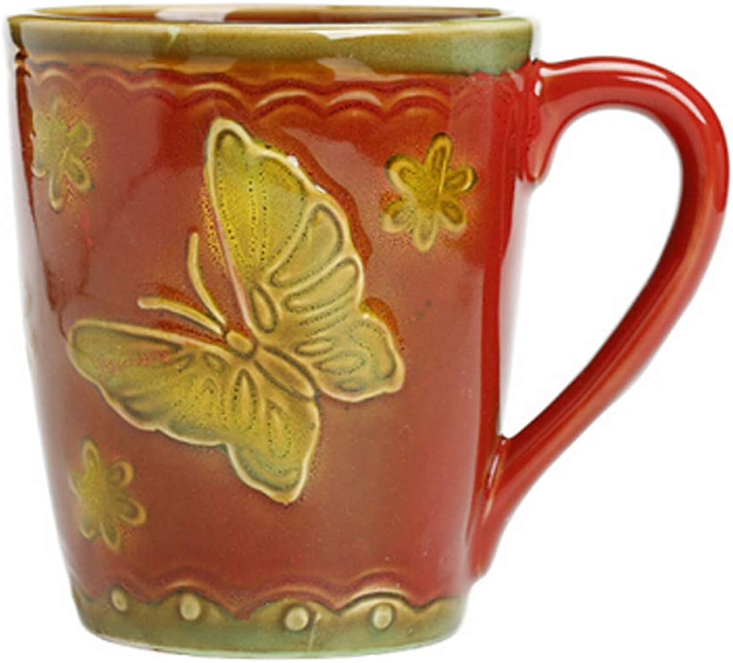 Guyuexuan Ceramic Cup Retro Personality Cup Milk Cup Coffee Cup Office Cup Latest Models