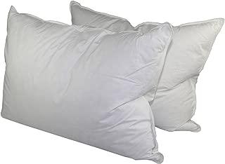 Manchester Mills Down Dreams Standard Size Medium Firm Pillow Set - 2 Pillows
