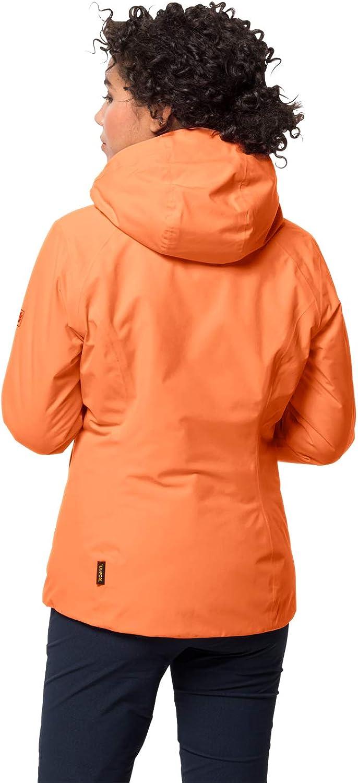 Jack Wolfskin Damen Argon Storm Jacket W wasserdichte Winterjacke Paradise Orange