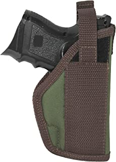 Barsony New Woodland Green Outside The Waistband Holster for Compact 9mm 40 45 Pistols