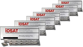 iOSAT Potassium Iodide Tablets, 130 mg (14 Tablets each) - Sept 2024 Expiration - 10 packs