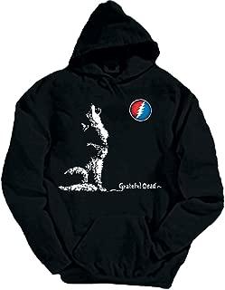 Grateful Dead Dire Wolf Hooded Sweatshirt by Dye The Sky