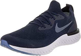 Men's Epic React Flyknit Running Shoe College Navy/Diffused Blue/Football Grey 11 M US