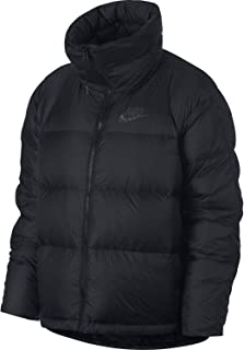 Nike Womens Down Filled Jacket Black/Anthracite 939436-010 Size Large