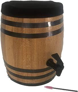 Kombucha Brewing Charred Oak Barrel (10 Liter) Approx 2.5 gallons