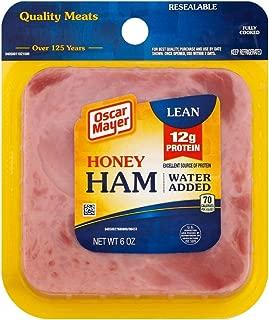 Oscar Mayer Square Sliced Honey Ham, 6 Ounce -- 9 per case.