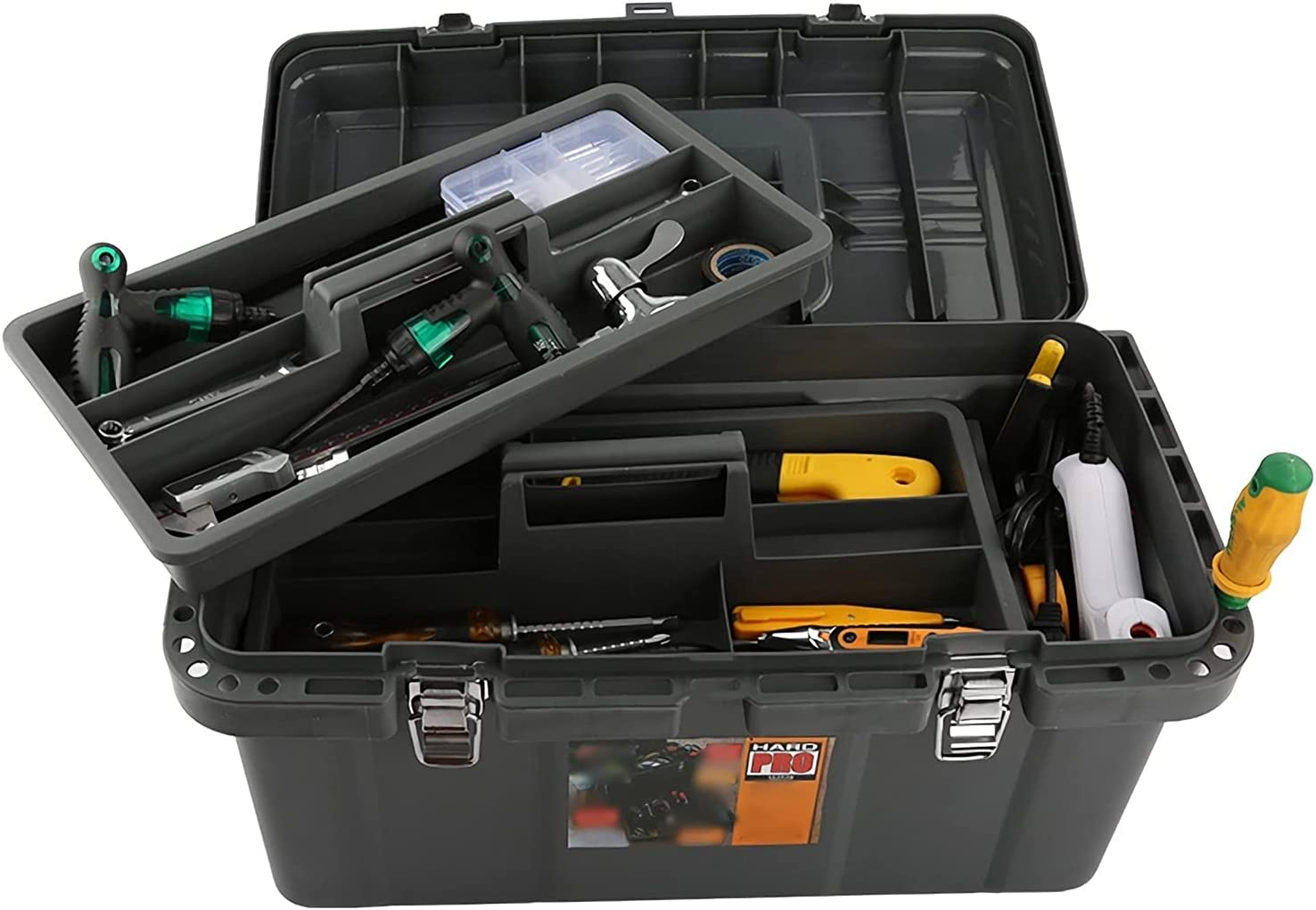 professional tool store box Latest item Plastic Tool Duty Organ Hardware Heavy Box