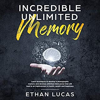 Incredible Unlimited Memory audiobook cover art