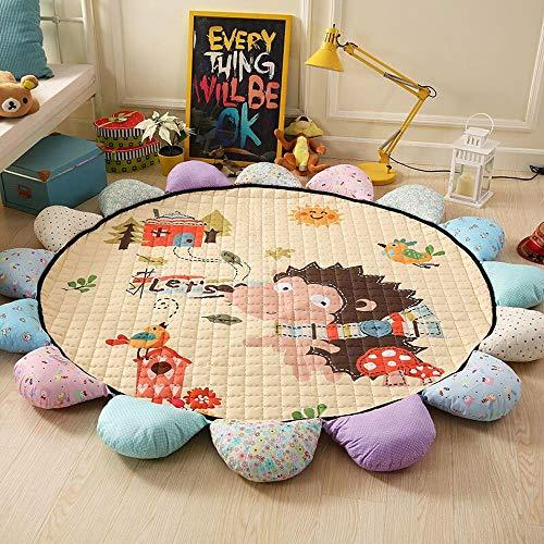 Enkoo Enfants du dessin animé bébé tapis de jeu pour enfants décoration de chambre chambre cadeau grand tapis tapis tapis couverture rampante pour nourrissons tapis de jeu de plancher pour enfants non