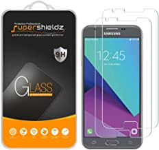 Supershieldz (2 Pack) for Samsung (Galaxy J3 Prime) Tempered Glass Screen Protector, Anti Scratch, Bubble Free
