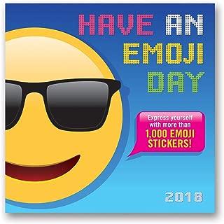 emoji calendar 2018