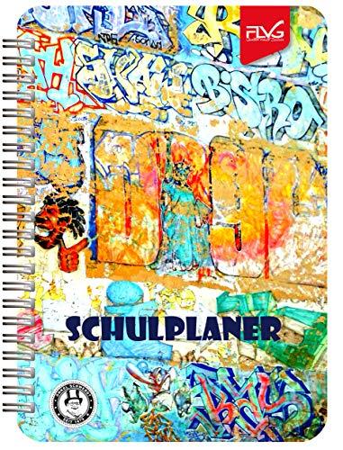 FLVG A5 Gymnasial-, Schul- und Studienplaner 2020/2021 Schulplaner -Sonderedition Grafitti