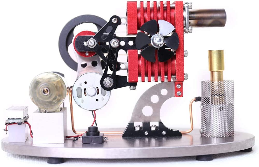 Max 80% OFF FenglinTech Stirling Engine Model α-Type Cylinder Ranking TOP18 Double