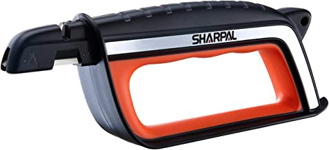 SHARPAL 103N All-in-1 Knife, Lawn Mower Blade, Axe, Machete, Pruner Shear Scissors Multi-Sharpener & Garden Tool Sharpener
