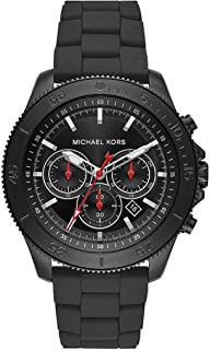 Michael Kors Mens Chronograph Quartz Watch with Stainless Steel Strap MK8667