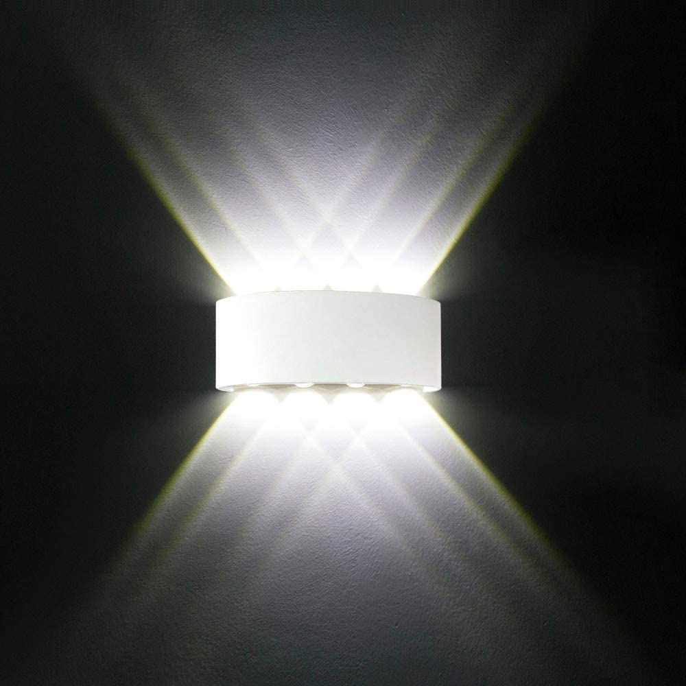 NARUJUBU online shop LED Wall Max 53% OFF Lights Waterproof Aluminium Modern White