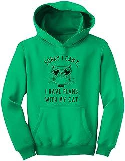 Tstars - キュートキャット 猫ギフト かわいい猫ちゃんプレゼント ユニークキャットのプレゼント スイート猫ちゃん贈り物 キッズパーカー
