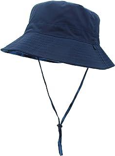 قبعة شمس للنساء قابلة للعكس بحزام ذقن سريع الجفاف مقاوم للمياه