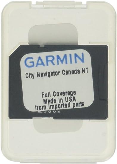 Garmin Canada Map Sd Card Amazon.com: Garmin City Navigator for Detailed Maps of Canada (SD