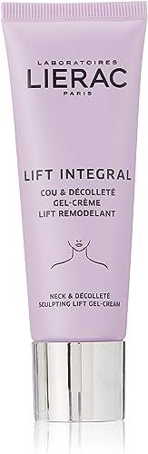 Lierac Lift Integral Gel Crema Collo e Décolleté Antirughe con Acido Ialuronico, per Tutti i Tipi di Pelle, Formato d...