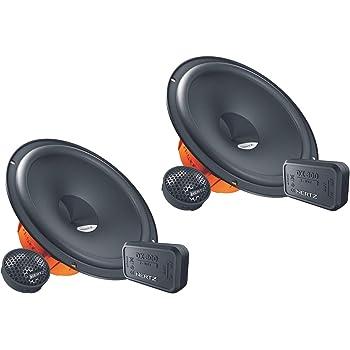 Altavoces para coche De 2 v/ías, 92 Db, 240W, 16,5 cm, 4,9 cm Negro Coral Electronic MK 165 altavoz audio