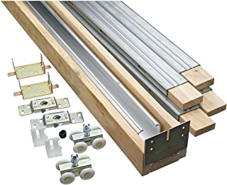 National Hardware N186-858 882 Pocket Door Hardware in Aluminum Rail
