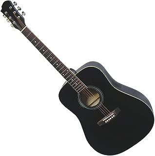 JamesNeligan 058980 Guitare acoustique Dreadnought en épicéa massif//acajou ASY-D