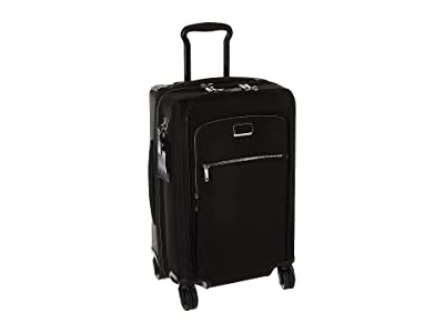 Tumi Larkin Sutter International Dual Access 4 Wheeled Carry-On (Black/Silver) Luggage