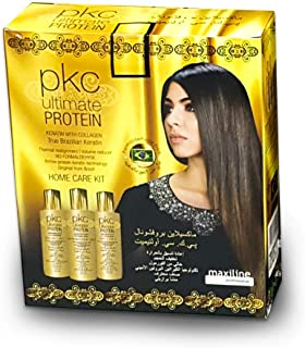 PKC Ultimate Protein Keratin With Collagen straightening Professional Home care Kit
